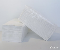 Полотенца бумажные листовые 200шт - PRV200