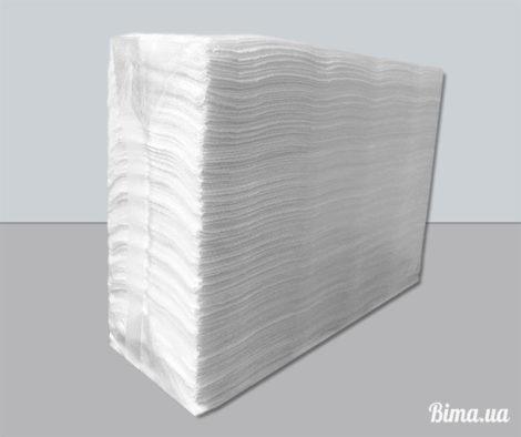 Полотенца бумажные листовые 160шт. Целлюлоза двухслойная
